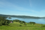 Krajina poblíž jezera Totak, Norsko