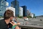Novostavby v přístavní čtvrti Bjørvika, Oslo