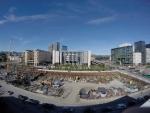 Výhled ze střechy Nové budovy Opery, Oslo