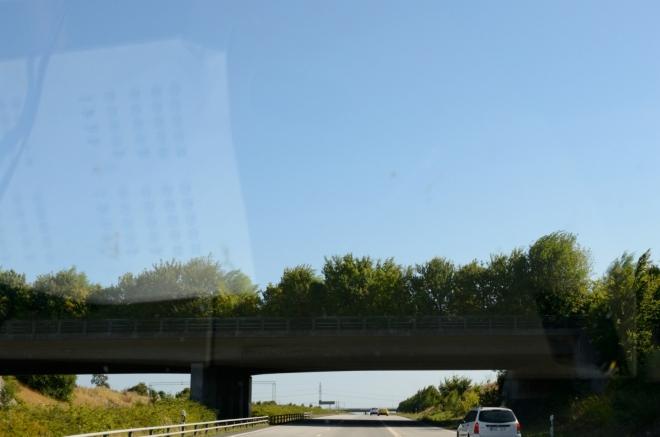 Po dalších dvou hodinách potom potkáváme druhý zajímavý most.
