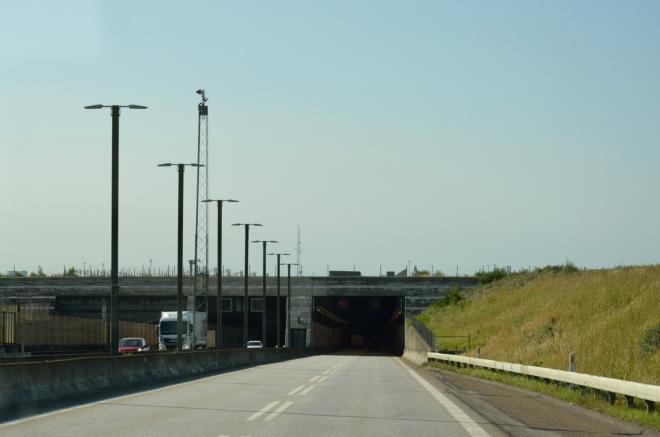 Ve zmíněném tunelu strávíme poslední čtyři kilometry.