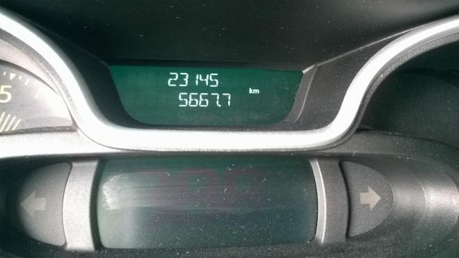 Na tachometru svítí finálních 5667 km.