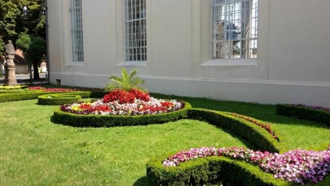 Květinová zahrada.