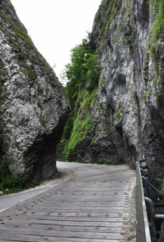 Kaňon je nejužším na Slovensku (3,4 m).