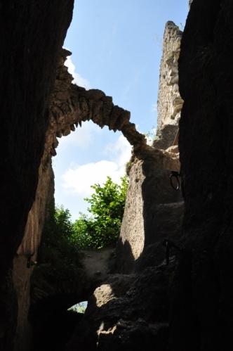 Na hradě Sulov.