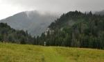 Planina nad Prosieckou dolinou se táhne až k Velké Borové. Tudy se vracíme z celodenního krásného okruhu.
