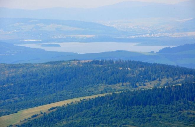 Oravská přehrada.