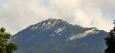 Sivý vrch a Radové skály v podvečerním osvětlení.