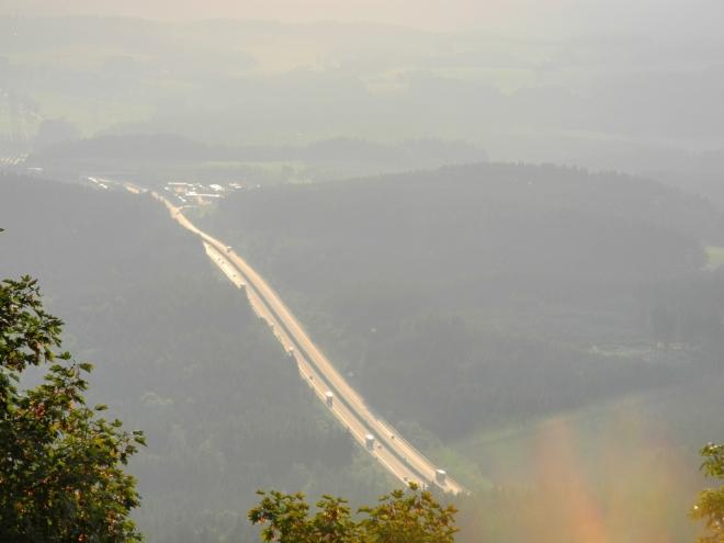 Dálnice na Rozvadov.