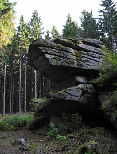Na Skalkách (769 m n. m.).