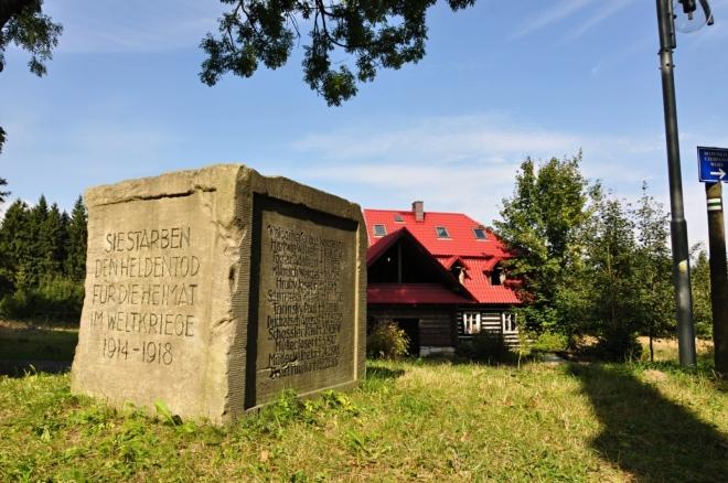 Památník l. světové války.