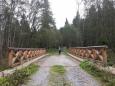 Most přes Uhlíkovský potok.