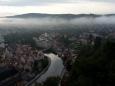 Vltava obtáčí Vnitřní město.