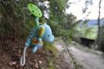 Když vyjdeme z lesa, už se šeří. Tomu se říká dokonale využitý den. I slůněti se líbil.