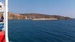 Gavdos a jeho jediný přístav Karave ...