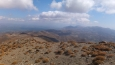 za kopce pohoří Spasmenos Tholakas a ještě dál na východ jsme meli namířeno ...