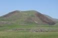 Vrchol Učtepe (3307 m) v pohoří Geghamy, Arménie