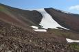 Výstup na vrchol Aždahak (3597 m) v pohoří Geghamy, Arménie