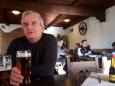Prodloužení cesty přes hospodu v Municích jsme absolvovali jen díky odměně, která na nás čekala.  Roštěná a pivko bodlo.
