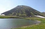 Vrchol Aždahak, Geghamy, Arménie