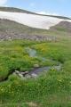 Geghamy severně od vrcholu Aždahak, Arménie