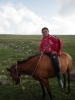 Sestup z Gegham do vesnice Sevaberd, Arménie