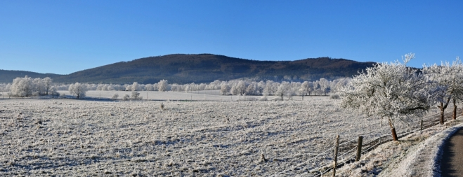Vysoká Běta a Chrášťanský vrch jsou vrcholky bočního hřebene Blanského lesa.
