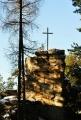 Skalní věž pod Zeleným vrchem.