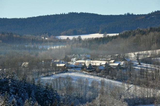 Lažišťka a Rohanovský vrch.