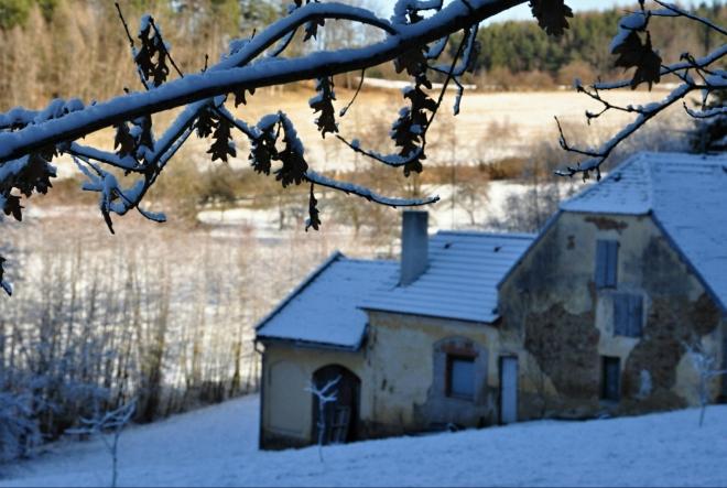 Brdová, samoty nad Vitějovicemi.
