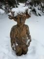 Škarakal. Jedna z mnoha bájných postaviček Krušnohoří, které nalézáme rozesety kolem Plešivce.
