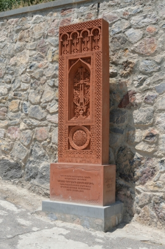 Jeden arménský chačkar