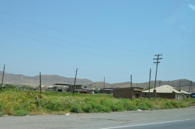 Poslední či předposlední sídlo před ázerbájdžánskými hranicemi