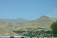 Krajina poblíž města Areni, Arménie