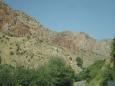 Na cestě ke klášteru Noravank, Arménie