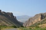 Poblíž kláštera Noravank, Arménie