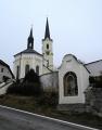 Kostel ve Světlíku byl založen kolem poloviny 13. století. V roce 1663 rozšířen a v letech 1872-74 stavebně upraven. Devadesátá léta 20. století pak znamenal kompletní rekonstrukcí, roku 1999 byly posvěceny dva nové bronzové zvony ze zvonařství Rudolfa Pernera v Pasově.