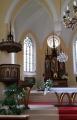 Kostel sv. Josefa na Hrubé Skále.