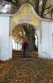Rožmitál pod Třemšínem - vstup k zámku.