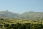 Krajina na východě provincie Vayots Dzor, Arménie