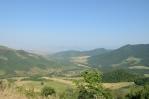 Výhled do Náhorního Karabachu u vesnice Srašen, Arménie