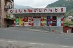 Supermarket v Gorisu, Arménie