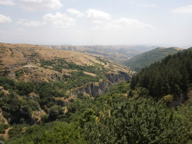 Výhled na kaňon