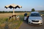 Při vesnici Hayravank u jezera Sevan, Arménie