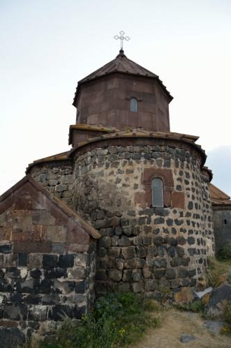 Hayravank je pro mě nejpůsobivější klášter, který jsme navštívili. Ale možná je to jen denní dobou.