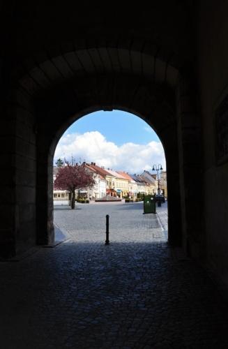 Valdická brána.