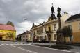 Náměstí v Rovensku pod Troskami...
