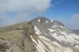 Výhled z jižního vrcholu Aragatsu, Arménie