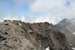Západní vrchol Aragatsu (cca 4000 m), Arménie
