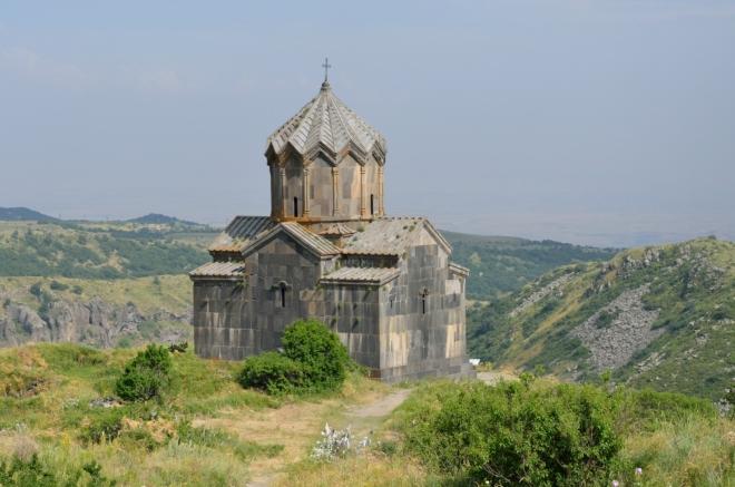 Kostel Vahramashen, zvaný též kostel sv. Matky Boží, postavený počátkem jedenáctého století.